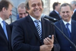 Platini satisfied with Ukraine's preparation to Euro-2012
