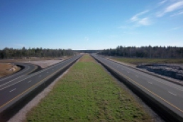 Construction works of Dnipropetrovsk highway close to completion