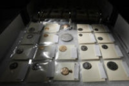 British citizen detained in Kyiv airport with almost two thousand ancient coins