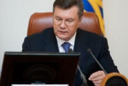 Yanukovych congratulates Christian community on Epiphany