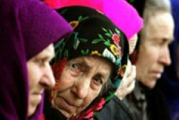 Ukrainian nation rapidly growing old