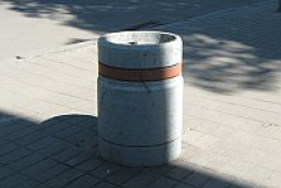 Dnipropetrovsk to replace concrete garbage bins with metal ones