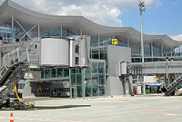 New terminal of Boryspil airport: Size XXL