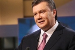 Yanukovych: We are to bring up children in Ukrainian spirit