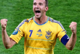 Shevchenko named the best Euro-2012 player of the first set of group matches