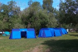 Camping on the Trukhaniv Island will be turned into a recreation area