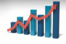The Ukraine's GDP growth accelerated in May