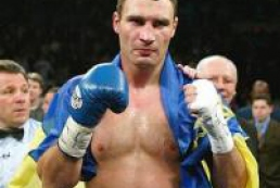Called the name of the next opponent of Vitali Klitschko