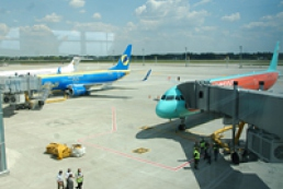 Kyiv airports cope with the inflow of tourists