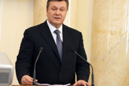 Yanukovych lays emphasize on Ukraine participation in the international security enhancing