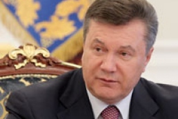 Yanukovych: law on languages must meet the norms of European charter