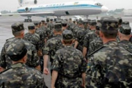 Yanukovych sent peacekeepers to Africa