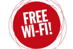 Free Wi-Fi became available in two more public places