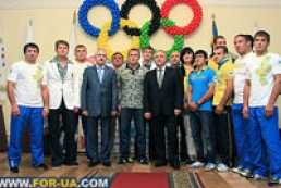 Kyiv held send-off ceremony for Ukrainian Olympians