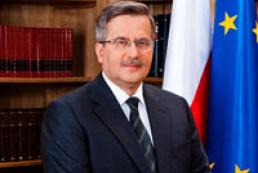 Komorowski continues supporting Ukraine's Eurointergration