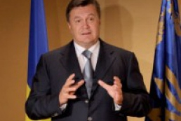Yanukovych wished Olympians endurance and will to win