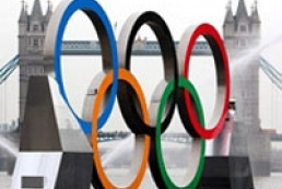 Ukrainian flag hoisted in Olympic Village