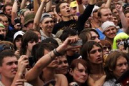 Woodstock rock festival held in Ukraine for the first time