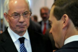 Azarov and Medvedev talk about language issue