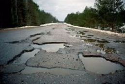 Ukrainian roads named among the worst in the world