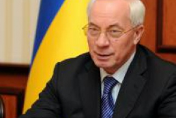 Azarov: Ukrainians cluttered the whole country