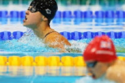 Ukrainian Paralympic athletes won five medals in swimming