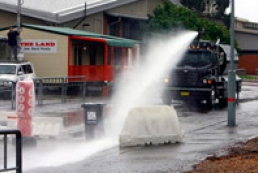 Internal Ministry: Water cannons purchased not due to elections