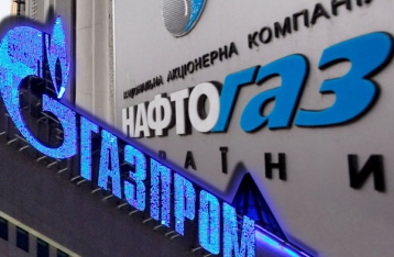 Naftogaz pays to Gazprom for gas imported in August