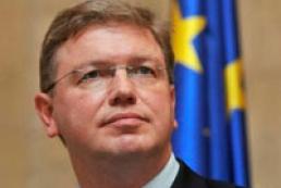 Füle: Europe does not impose partnership on Ukraine