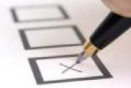 CEC approves form of determination of vote returns