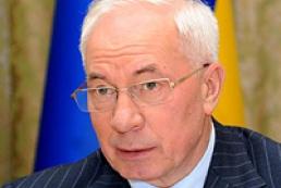Azarov outraged by construction pace slowdown in Ukraine