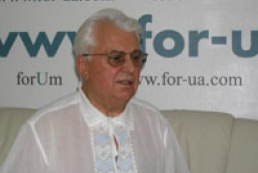Kravchuk against defamation bill