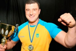 Ukrainian became the world armwrestling champion