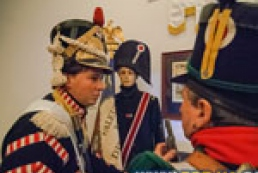 Napoleon and brave hussars meet in Kyiv Lavra