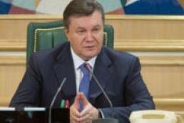 Yanukovych welcomes abolition of libel bill