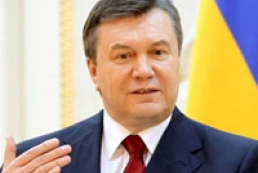 Yanukovych promises to develop renewable energy sources