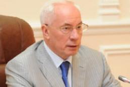 Gas prices not to grow next year, Azarov assured