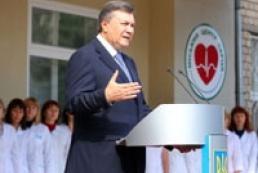 Yanukovych demands to reduce mortality in Ukraine
