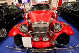 Vintage cars exhibition opens in Kyiv today