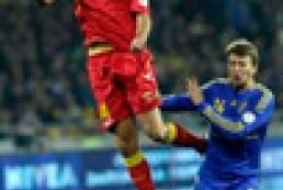 Montenegro beats Ukraine 1:0