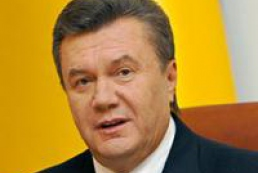 Yanukovych told about positive cooperation between Ukraine and Russia