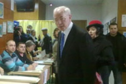 Azarov pleased with webcams at elections