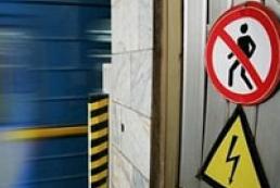 Passenger falls on rails at Khreshchatyk underground station