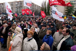 Hundred activists protest near CEC