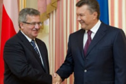 Poland to support Ukraine in European integration course, Yanukovych hopes