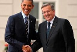 Obama, Komorowski talked about Ukraine