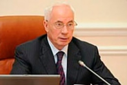Azarov satisfied with the way govt solves problems