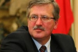 Komorowski: Elections confirmed desire of Ukrainians to join the EU