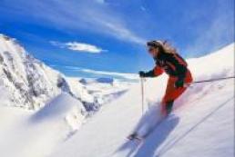 Ukrainians prefer celebrate New Year's Eve in ski resorts