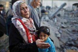 62 Ukrainian left already Gaza Strip